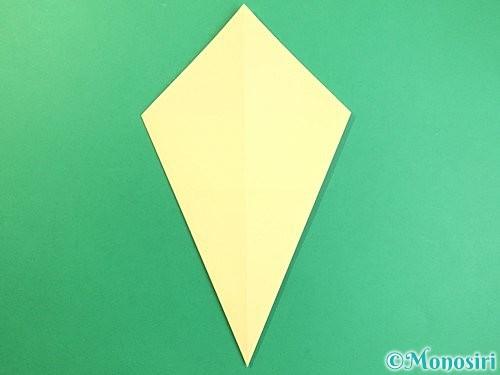 折り紙でいちょうの折り方手順5
