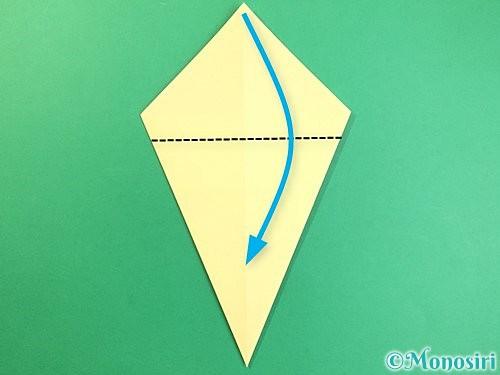 折り紙でいちょうの折り方手順6