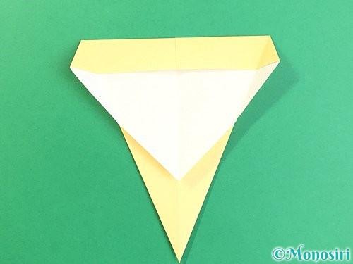 折り紙でいちょうの折り方手順9