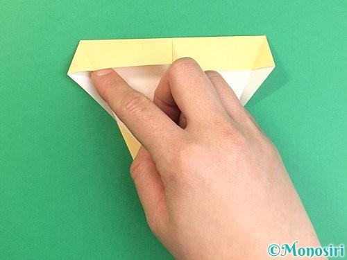 折り紙でいちょうの折り方手順10