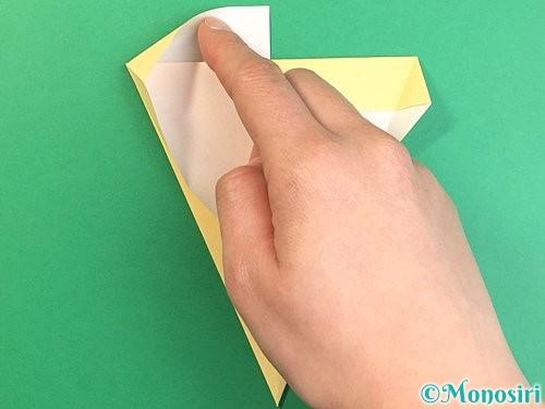 折り紙でいちょうの折り方手順11