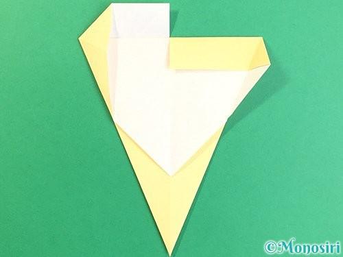 折り紙でいちょうの折り方手順12