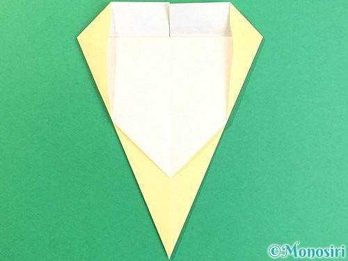 折り紙でいちょうの折り方手順13