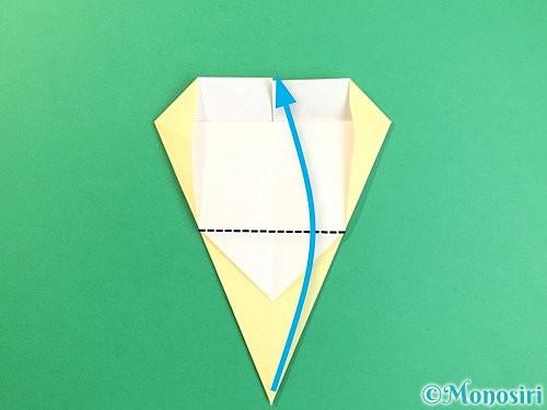 折り紙でいちょうの折り方手順14