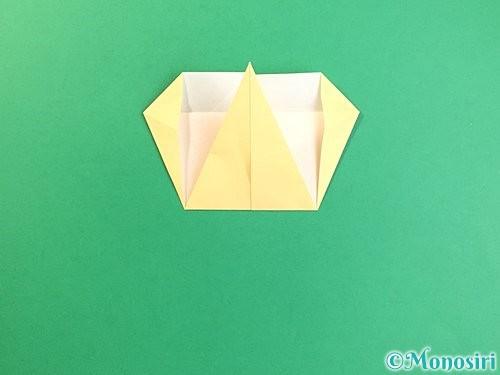 折り紙でいちょうの折り方手順15