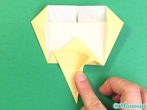 折り紙でいちょうの折り方手順19