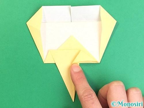 折り紙でいちょうの折り方手順20