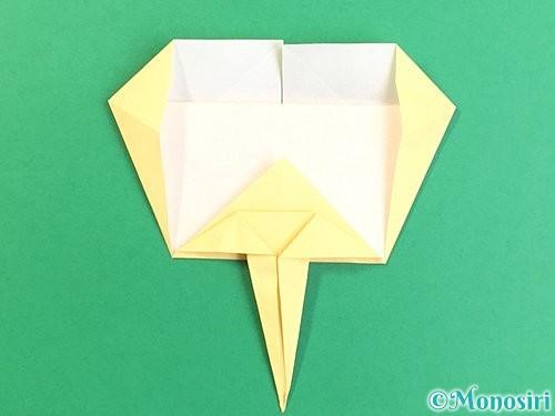 折り紙でいちょうの折り方手順22