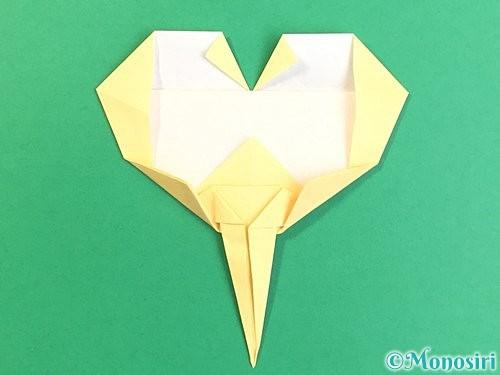 折り紙でいちょうの折り方手順24