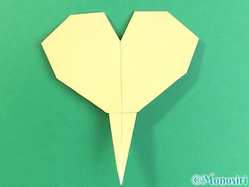 折り紙でいちょうの折り方手順25