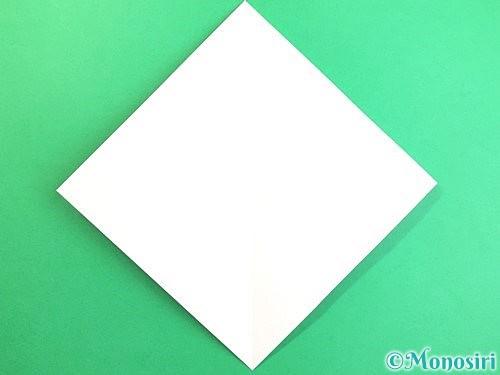 折り紙で立体的なコスモスの折り方手順