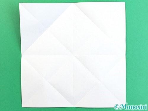 折り紙でコスモスの折り方手順6