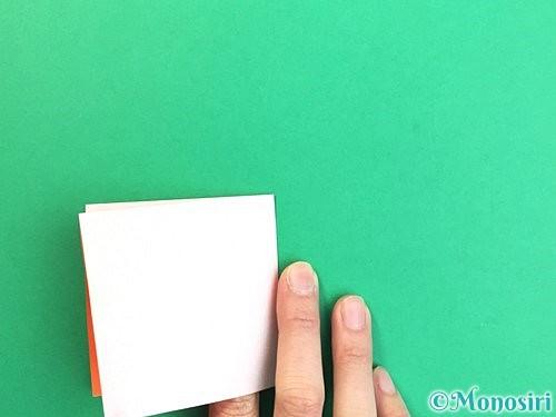 折り紙で立体的なガーベラの折り方手順5