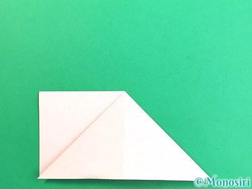 折り紙で立体的なガーベラの折り方手順8