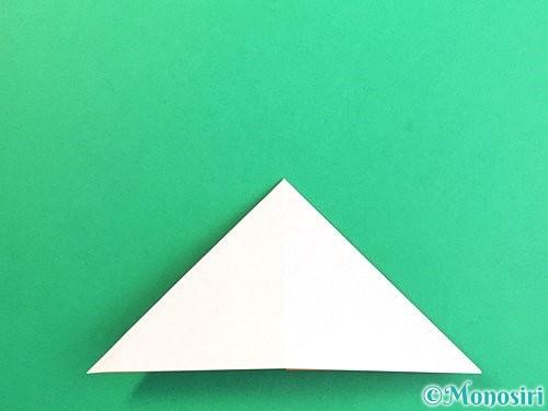 折り紙で立体的なガーベラの折り方手順9