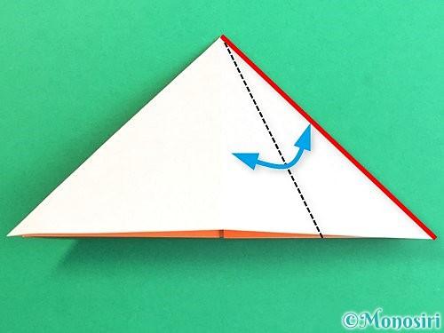折り紙で立体的なガーベラの折り方手順10