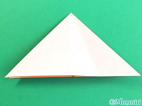 折り紙で立体的なガーベラの折り方手順11
