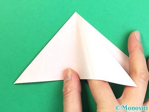 折り紙で立体的なガーベラの折り方手順12