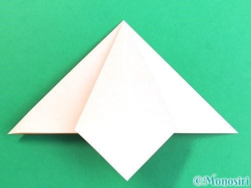 折り紙で立体的なガーベラの折り方手順14