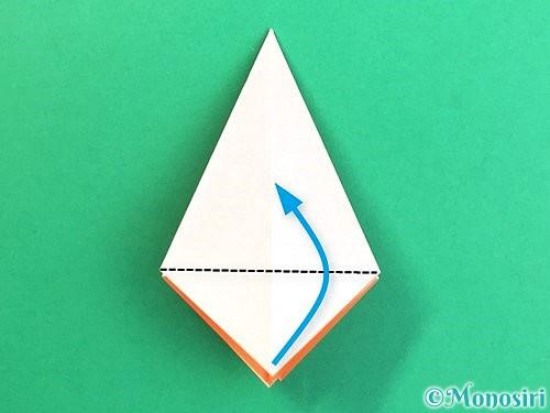折り紙で立体的なガーベラの折り方手順16