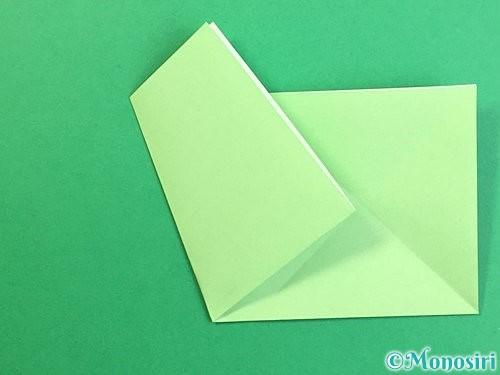 折り紙で立体的なリンドウの折り方手順56