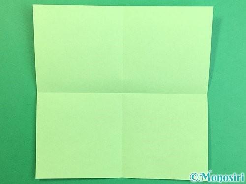 折り紙で立体的なリンドウの折り方手順49