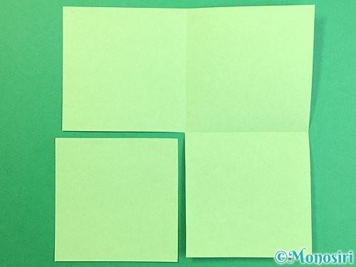 折り紙で立体的なリンドウの折り方手順50