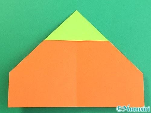 折り紙で柿の折り方手順9