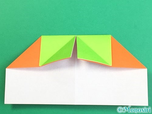 折り紙で柿の折り方手順14