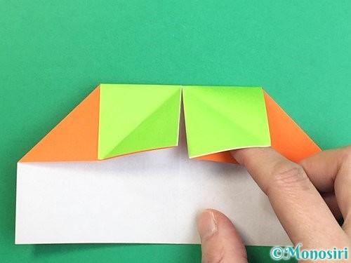 折り紙で柿の折り方手順15