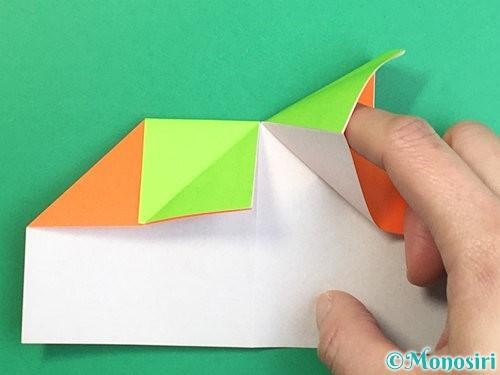 折り紙で柿の折り方手順16