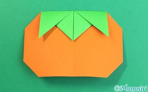 折り紙で折った柿