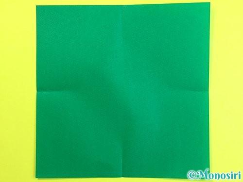 折り紙で立体的な柿の折り方手順40