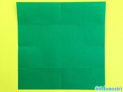 折り紙で立体的な柿の折り方手順42