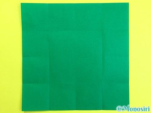 折り紙で立体的な柿の折り方手順44