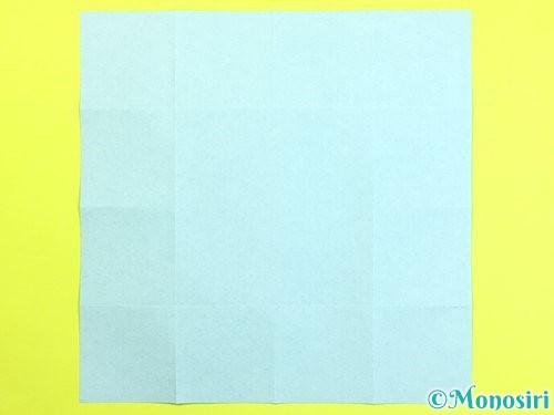 折り紙で立体的な柿の折り方手順45