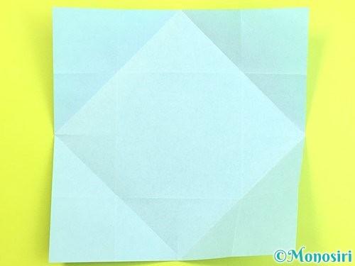 折り紙で立体的な柿の折り方手順47
