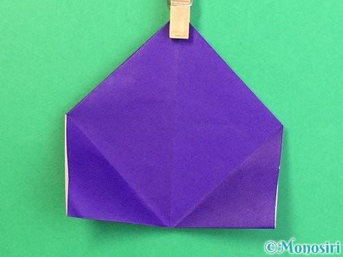 折り紙でぶどうの折り方手順11