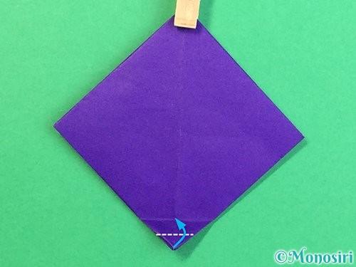 折り紙でぶどうの折り方手順17