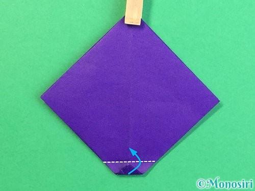 折り紙でぶどうの折り方手順19