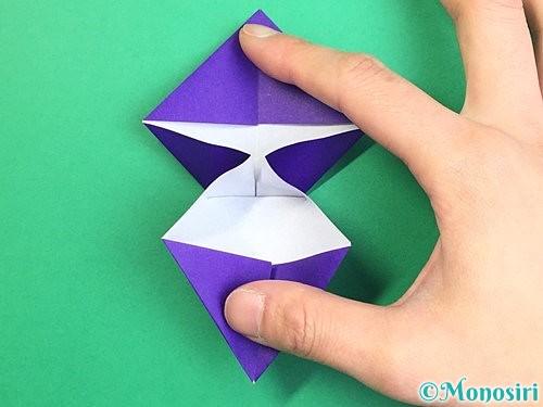 折り紙でぶどうの折り方手順22