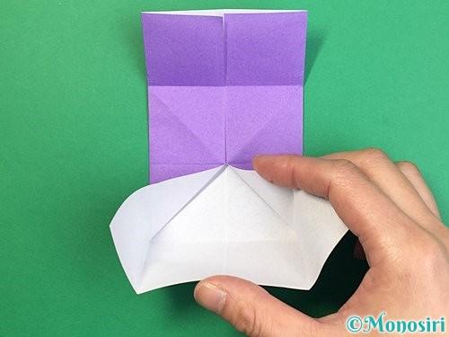 折り紙でぶどうの折り方手順14