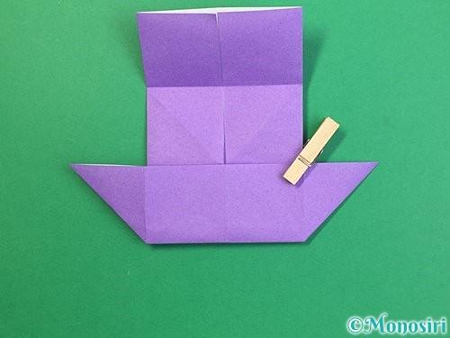 折り紙でぶどうの折り方手順16