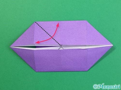 折り紙でぶどうの折り方手順18