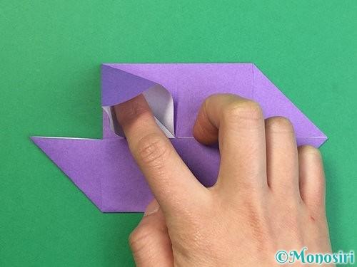折り紙でぶどうの折り方手順20
