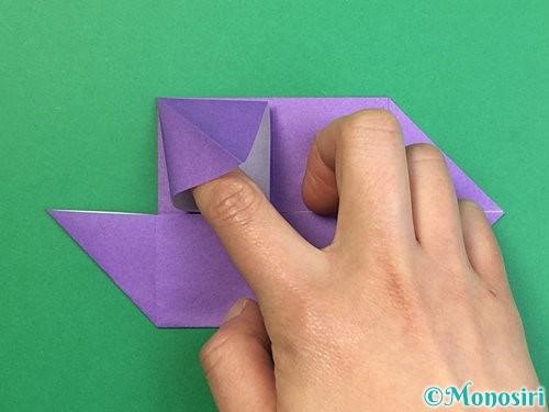 折り紙でぶどうの折り方手順21