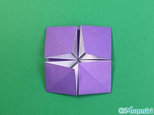 折り紙でぶどうの折り方手順23