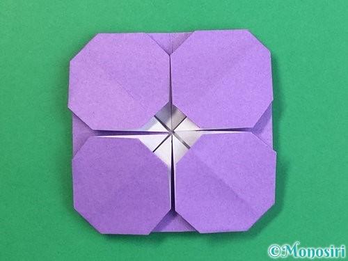 折り紙でぶどうの折り方手順25