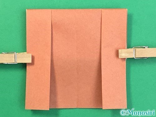 折り紙できのこの折り方手順12