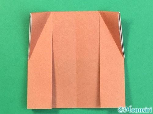 折り紙できのこの折り方手順14